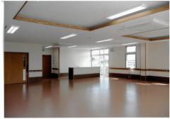 広々とした空間の地域交流室
