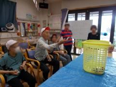 ふじの花大運動会 熱心に参加されました
